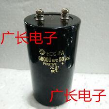 1PCS HITACHI HCG FA 50V 68000UF Electrolytic Capacitor 65X105mm 105℃ #E300 YX