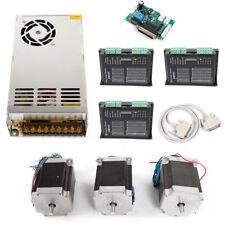 NEMA23 425 oz-in Kit driver motore passo-passo 3 Assi per macchine CNC