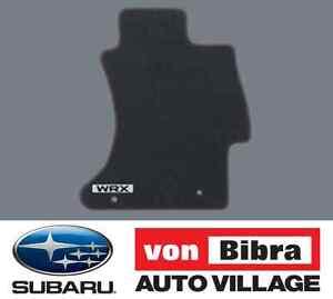 Brand New Genuine Subaru Impreza WRX Carpet Mat Set Black J501AVA201