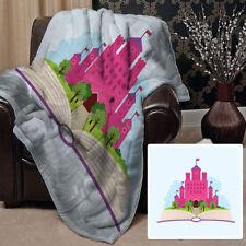 Couvertures roses pour le lit Chambre