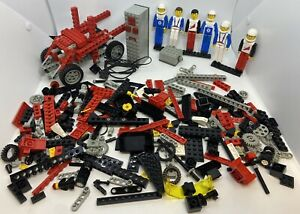 LEGO Technic Bundle With Figures & 9-Volt Motor Add-On Simple Mechanisms 9615