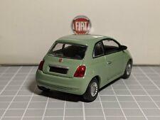 Fiat 500 2007 Green 1/43 NOREV Dealer Model Rare