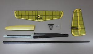 Fuselage set with tail - carbon pod, carbon tailboom, V-stab, up to 2m wingspan