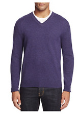 The Men's Store at Bloomingdale's Cashmere V-Neck Sweater, Size M, MSRP $198