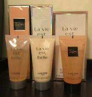 Lancome La Vie Est Belle / Tresor, Body Lotion / Shower Gel, Full / Travel Size
