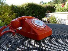 Compatible BOX Téléphone Ancien Cadran Mécanique Vintage S63 Socotel Orange