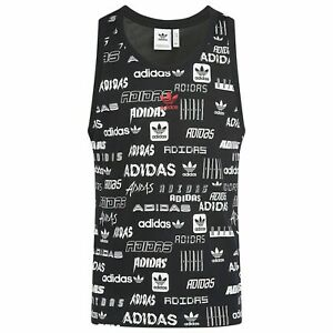 adidas Black Sleeveless Shirts for Men for sale   eBay