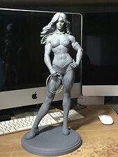 Mujer Maravilla de DC Comics 1/4 Escala Kit Modelo Sin Pintar estatua *! Nueva Versión! *