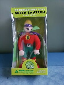 The Green Lantern Alan Scott DC Direct Soft Toys MIB 2001