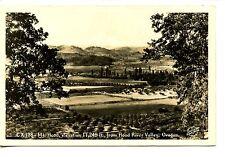 Pretty Scenic View-Hood River Valley-Oregon-RPPC-Vintage Real Photo Postcard