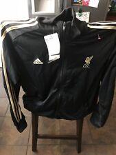 Liverpool Football Club adidas  3 Stripe Mens Full Zip Track Jacket M NWT