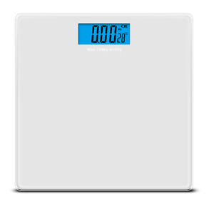 180KG Electronic Bathroom Body Weighing Scales Tempered Glass NEW