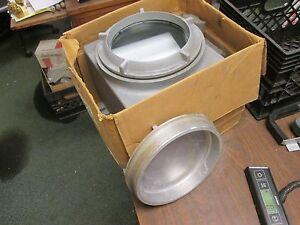 Hubbell Killark GR Explosion Proof Box w/ Lens Cover GRHC-775L New Surplus