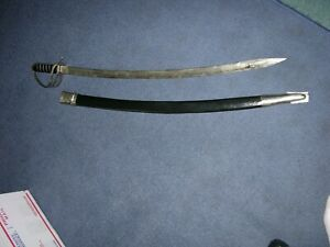 Vintage India Calvary Saber Sword and Scabbard