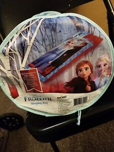 Brand New! Disney Frozen II Sleeping Bag with 50 Degree Temperature Rating 56x28