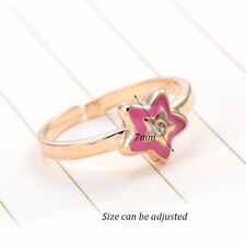 Womens Girls Child Teen Princess Star Ring Size 3+ Adjustable Parental jewelry