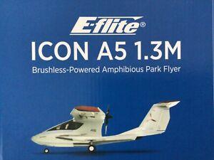 RARE E-Flite ICON A5 1.3M BNF Basic w/AS3X and SAFE EFL5850 UMX RTF