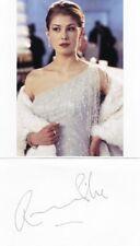 James Bond Signed Cards Certified Original Autographs