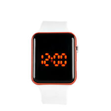 Fashion Silicone LED Men Womens Sport Watch Touch Digital Bracelet Wrist Watches
