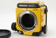 "【Rare! Repaint】 Mamiya RZ67 Pro IID II D ""Yellow"" Medium Format Camera R3587"