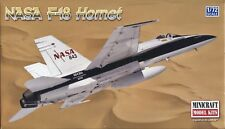 1:72 SCALE INJECTION MOLDED NASA F-18 HORNET by MINICRAFT
