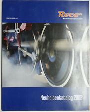 Roco Neuheitenkatalog 2008 mit 124 Seiten Spur HO Fahrzeuge, Zubehör, Wechselstr