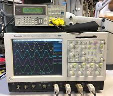 TEKTRONIX TDS7104 DPO Oscilloscope 4CH 1GHz 10GS/s WINXP, 3M SM J2 USB CP2 PW3