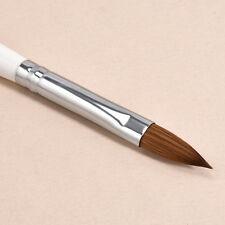 No.10 Detachable Nail Art Acrylic Kolinsky Sable Brush Nail Art Brush 1 pc