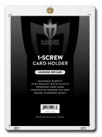 10 Max Pro 1 Screw Regular 20pt Baseball Trading Card Holder Screwdown Protector