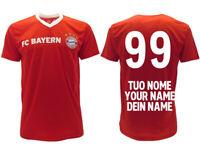Maglia Bayern Monaco personalizzata ufficiale 2020 2019 adulto bambino tuo nome