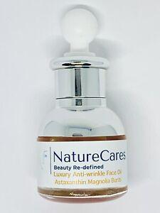 NatureCares Astaxanthin Luxury Magnolia +++ Anti-ageing Face Oil: Youth Elixir