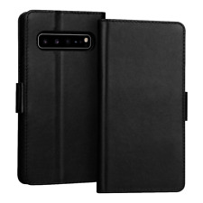 Leather Wallet Case For Samsung Galaxy S10 S10 Plus S9 S8 Plus Flip Soft Cover