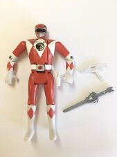 "Mighty Morphin Power Rangers Red Ranger 5.5"" Auto Morphin Flip Head Bandai 1993"