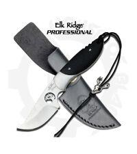 Elk Ridge Professional EP-002BK  Fixed Blade Knife with  Lanyard and Sheath