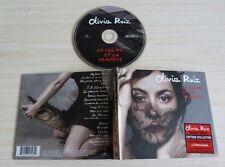 CD ALBUM LIVRE EDITION COLLECTOR LE CALME ET LA TEMPETE OLIVIA RUIZ 16 TITRES