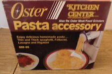 Oster Pasta accessory