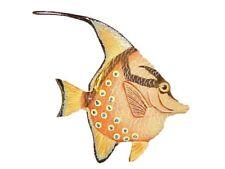 """6"""" TROPICAL FISH Home Decor Wall Sculpture Plaque Sea Life Replica"""