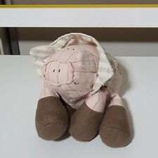 MAMAS AND PAPAS CLOTHED PIG BEANIE TOY 14CM LONG