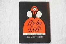 More details for lot polish airlines 35th anniversary airlines aviation luggage label