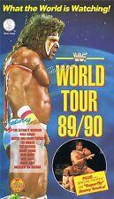 WWF World Tour 1989/1990 89/90 Orig SV VHS WWE Wrestling