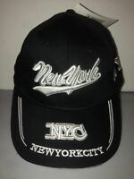 CAPPELLO NEW YORK CITY NERO VISIERA CAPPELLINO HAT
