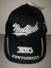 CAPPELLO NEW YORK CITY NERO VISIERA CAPPELLINO HAT