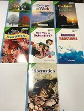 Lot of 7 Pearson Science Leveled Readers Above Level Grade 3