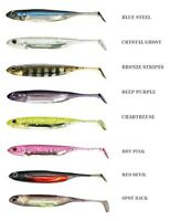 FISH ARROW Soft bait fishing lure shad fresh or sea 3 pack FREEPOST