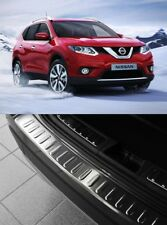 FOR NISSAN X-TRAIL T32 Chrome Rear Bumper Protector Scratch Guard [2014-2017]