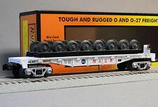 MTH RAIL KING NASA FLATCAR & WHEEL SET o gauge train space program 30-76620 NEW