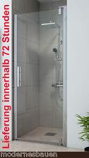 Breuer EUROPA-DESIGN Schwingtür Nischentür Duschtür 90 oder 100 cm Glas 8 mm CER