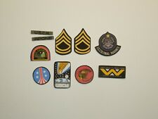 1/6 Scale Aliens Colonial Marines USCM Fabric Patches for action figures