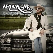 "Hank Williams Jr ""127 Rose Avenue"" w/ Red White & Pink-Slip Blues & more"