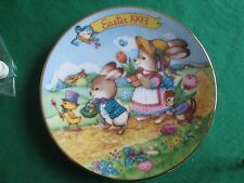 Avon Fine Collectibles*Easter Parade 1993 Easter Plate*With Stand*Nib*
